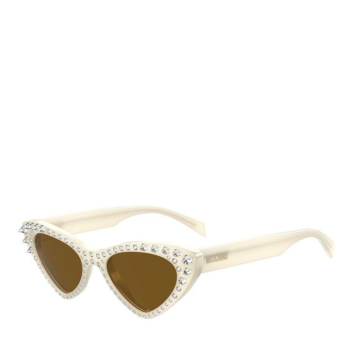 sunglasses, Moschino, MOS006/S/STR Ivory