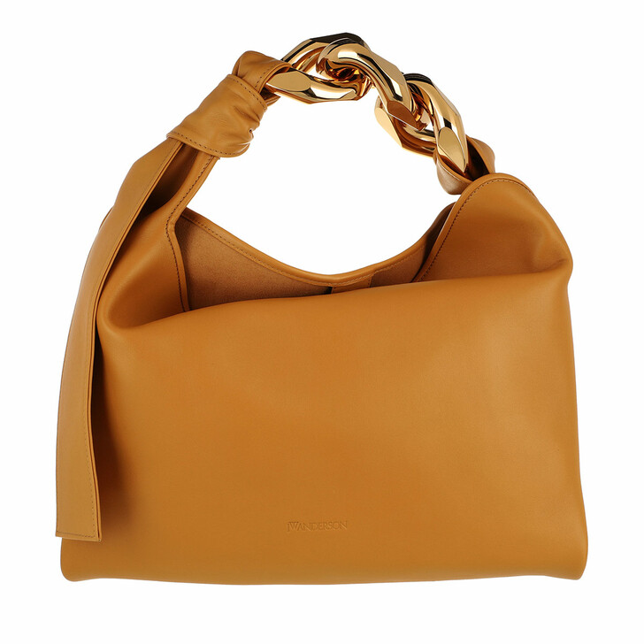 bags, J.W.Anderson, Small Chain Hobo Mustard
