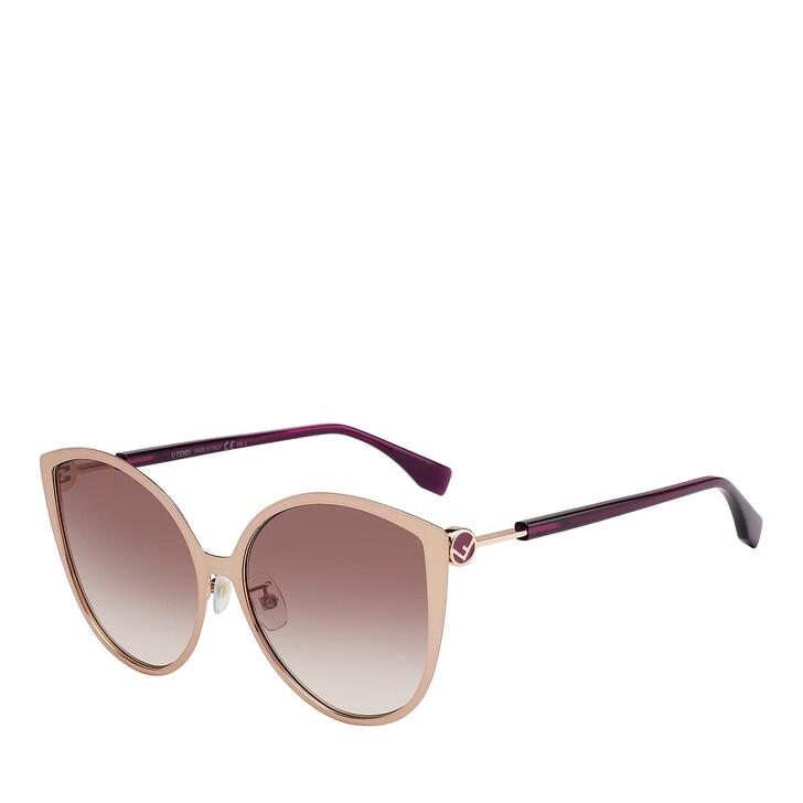 Sonnenbrille, Fendi, FF 0395/F/S GOLD COPPER