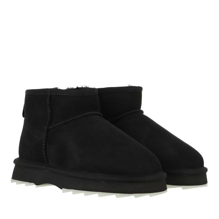 shoes, EMU Australia, Sharky Micro Boot Sheepskin Black