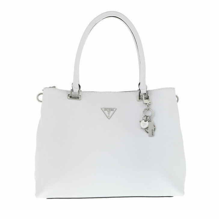 bags, Guess, Destiny Society Carryall White
