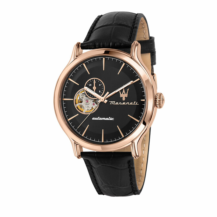watches, Maserati, Watch Epoca 42mm Auto Black
