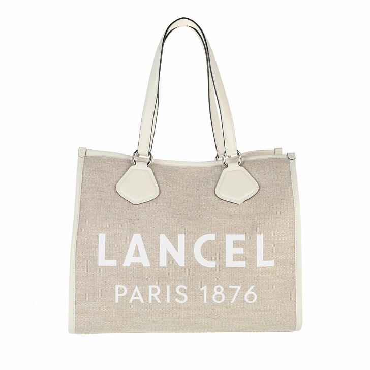 bags, Lancel, L Summer Tote Natural Snow