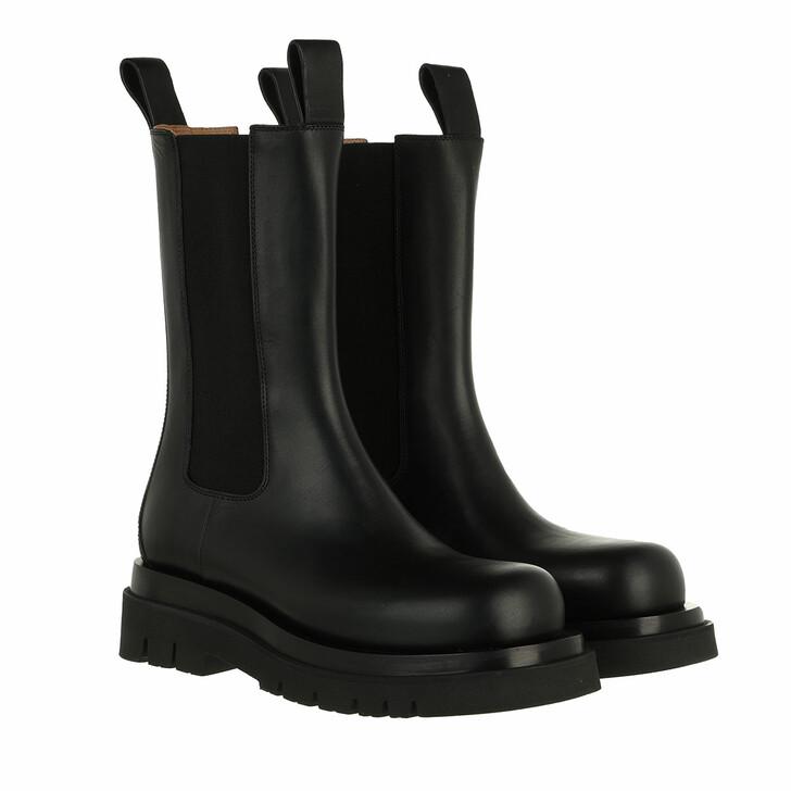 shoes, Bottega Veneta, The Lug Boots Black