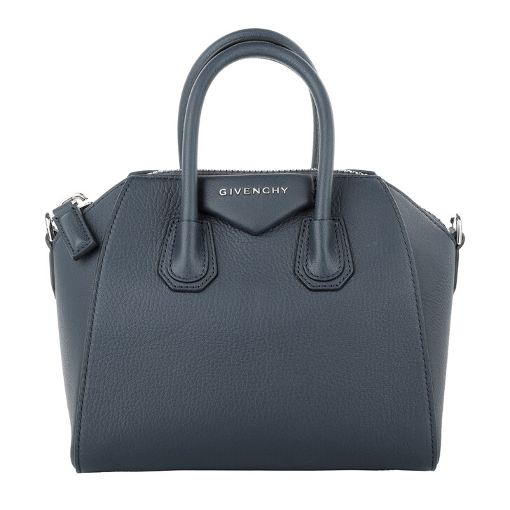 Handtasche, Givenchy, Antigona Mini Bag Navy