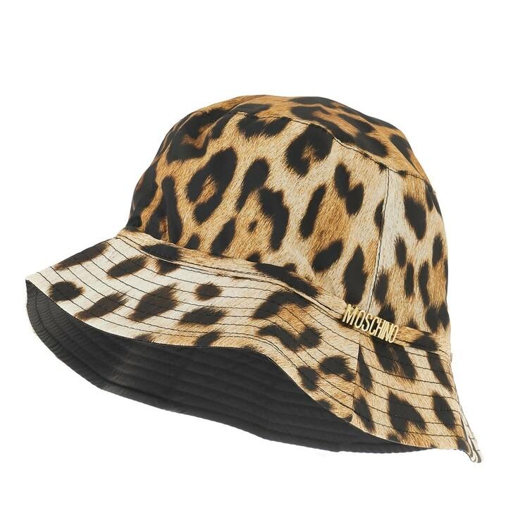 hats, Moschino, Hat Leopard