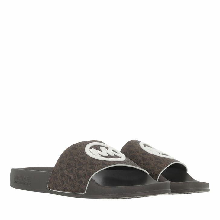 shoes, MICHAEL Michael Kors, Gilmore Slide Brown
