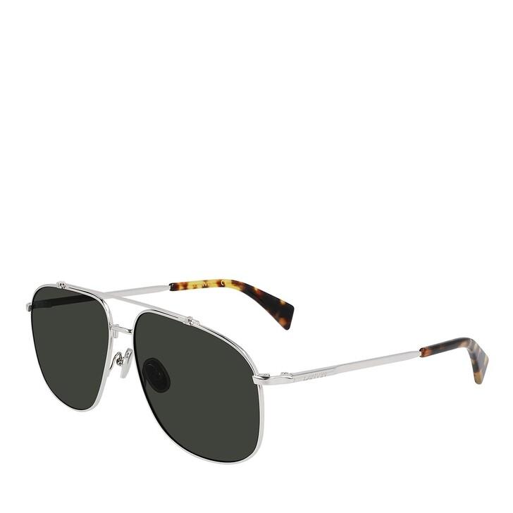 Sonnenbrille, Lanvin, LNV110S SILVER/GREEN