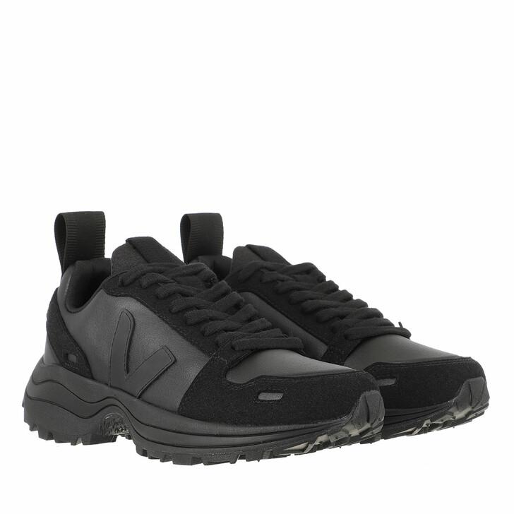 Schuh, Veja, Hiking Style Vegan-Suede Black Transparent