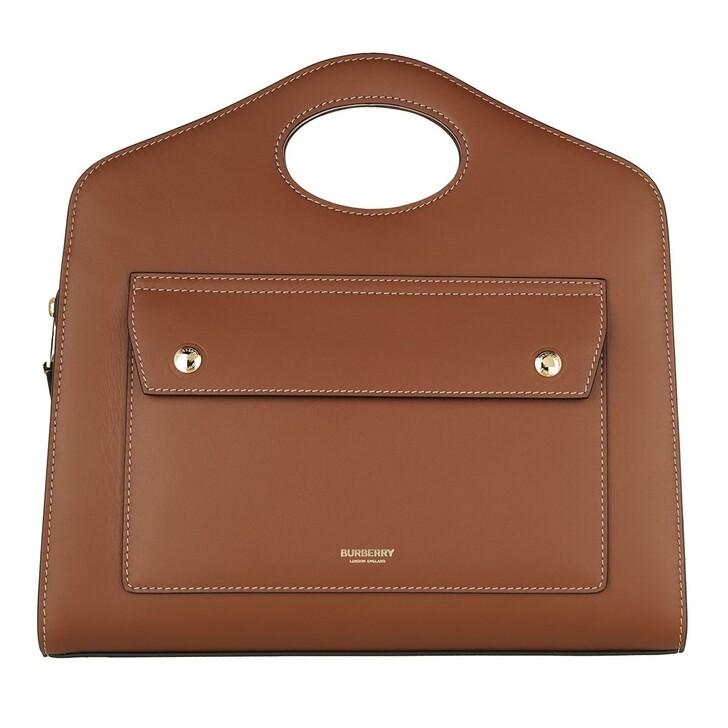 bags, Burberry, Small Tote Bag Malt Brown