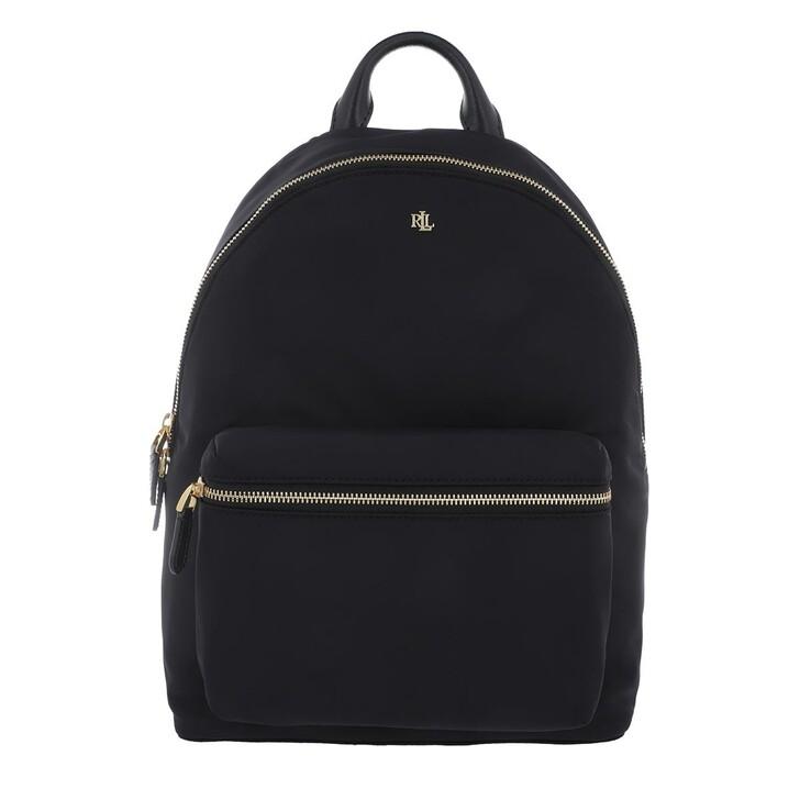 bags, Lauren Ralph Lauren, Clarkson 27 Backpack Medium Black