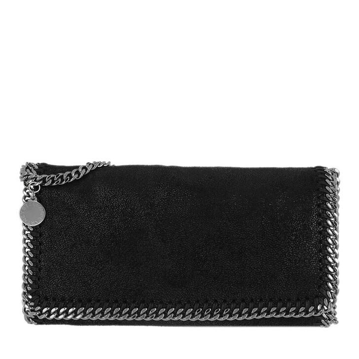 Handtasche, Stella McCartney, Falabella Shaggy Deer Crossbody Bag Black