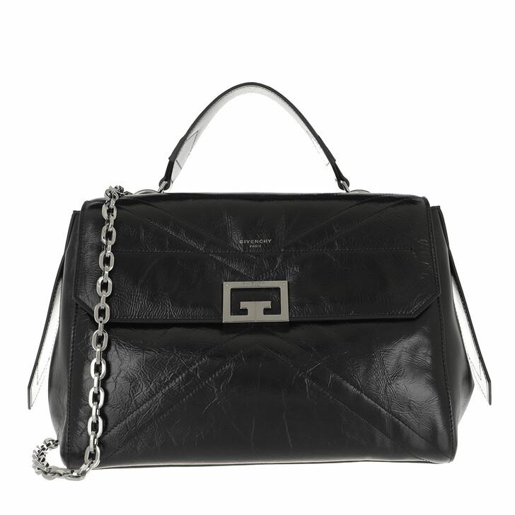 bags, Givenchy, Medium ID Crossbody Bag Aged Leather Black