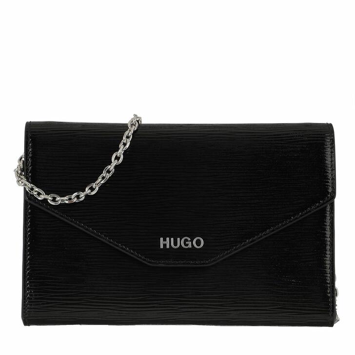 Handtasche, Hugo, Victoria Clutch Black