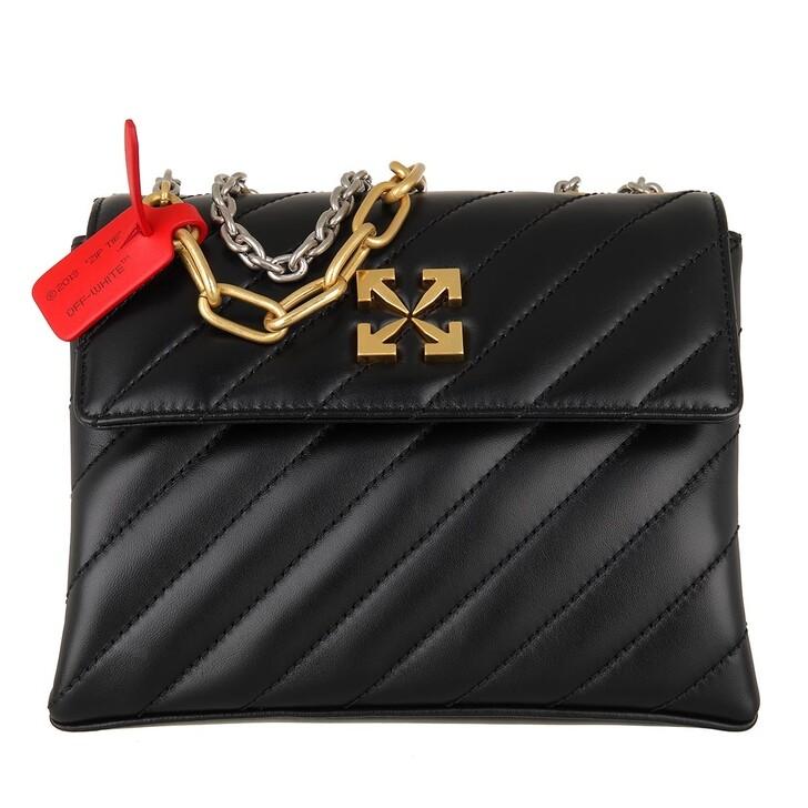 Handtasche, Off-White, Jackhammer Shoulder Bag 24  Black