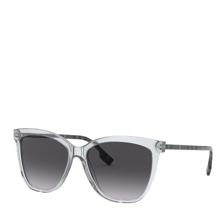 Sonnenbrille, Burberry, Women Sunglasses Classic Reloaded 0BE4308 Transparent Grey