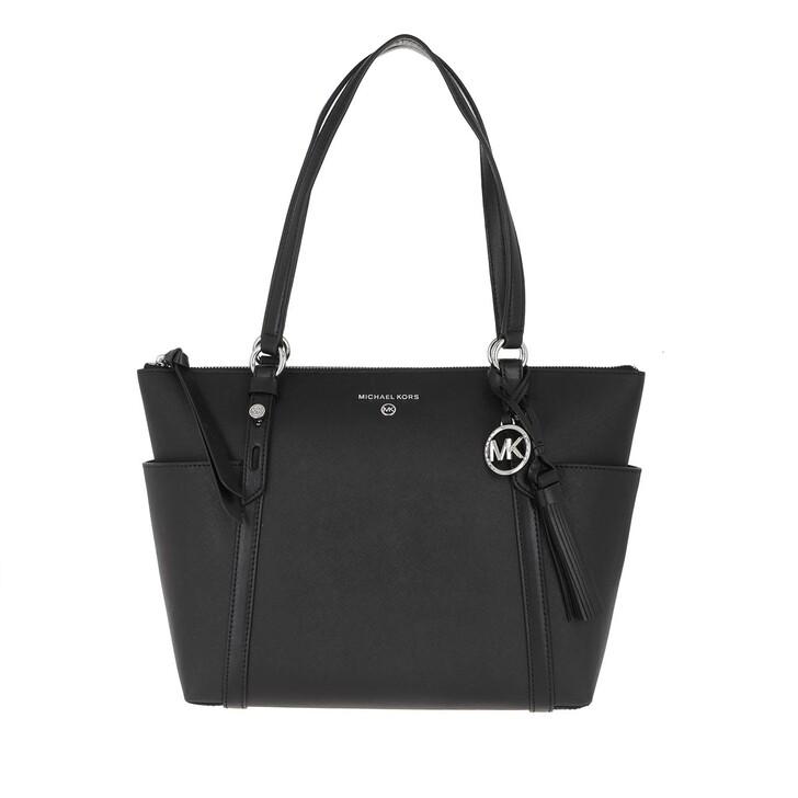 bags, MICHAEL Michael Kors, Medium TZ Tote Black