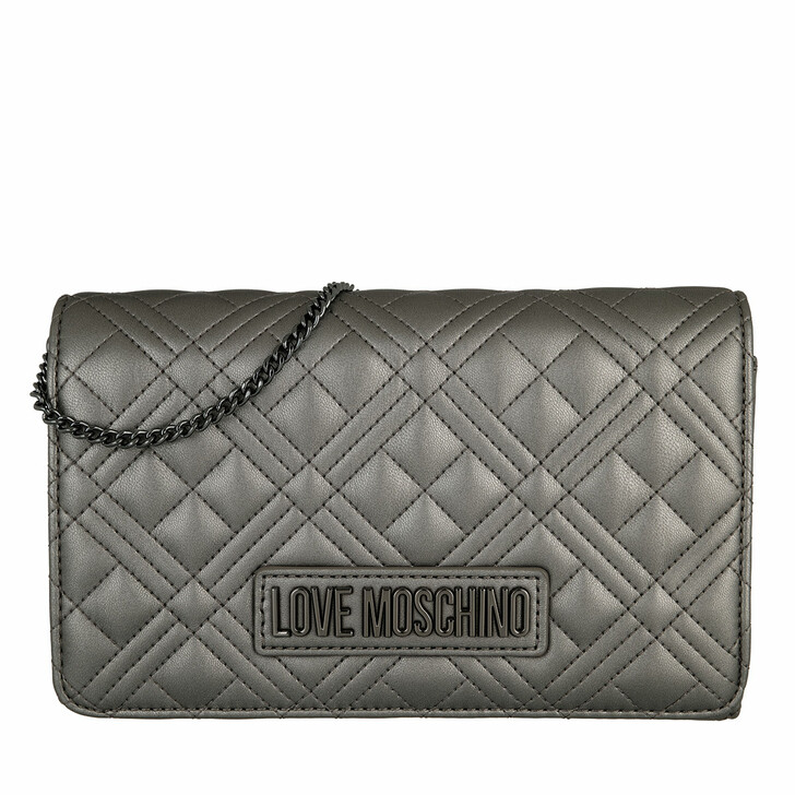bags, Love Moschino, Borsa Quilted  Pu  Fucile