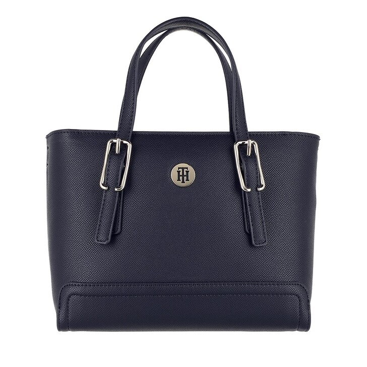 Handtasche, Tommy Hilfiger, Honey Small Tote Bag Desert Sky