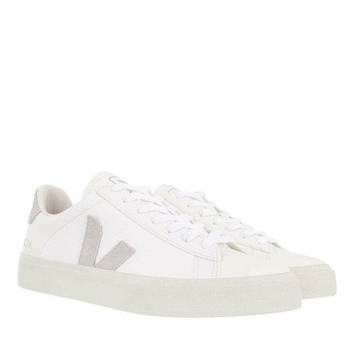 Schuh, Veja, Campo Chromefree Leather Extra White Natural Suede