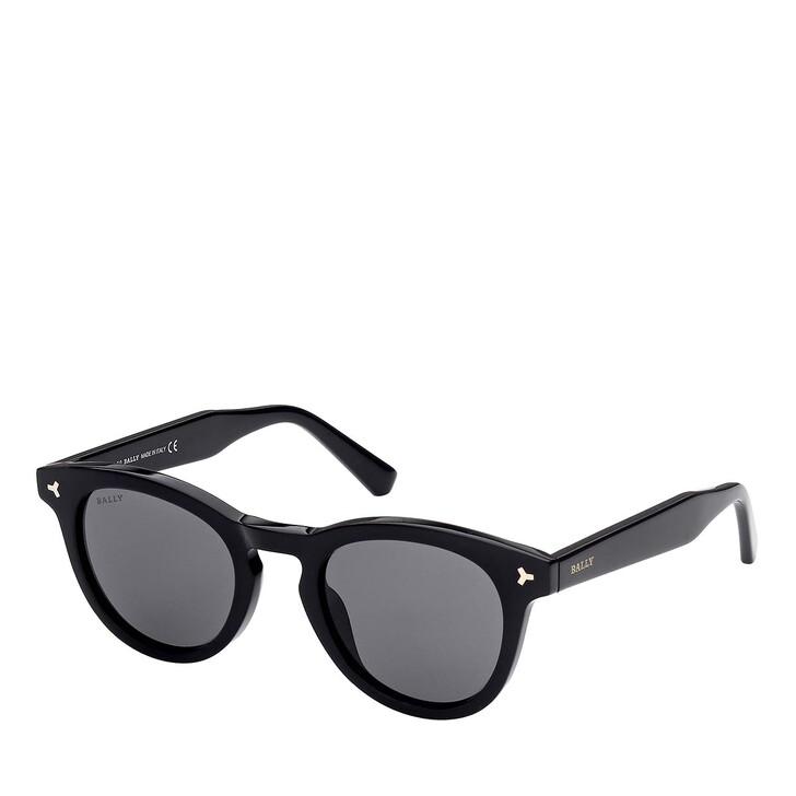 Sonnenbrille, Bally, BY0071 Shiny Black /Smoke