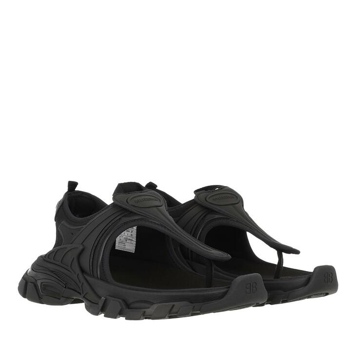 Schuh, Balenciaga, Track Thong Sandals Black
