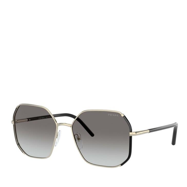 sunglasses, Prada, METALL WOMEN SONNE NERO + ORO PALLIDO