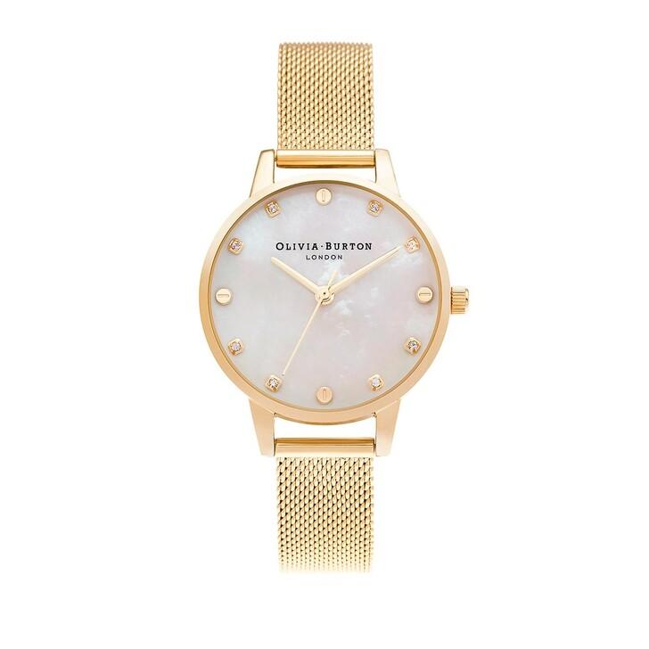 Uhr, Olivia Burton, wrist watch Gold