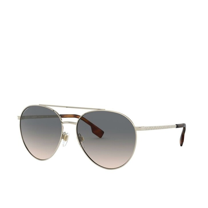 Sonnenbrille, Burberry, Women Sunglasses Classic Reloaded 0BE3115 Pale Gold