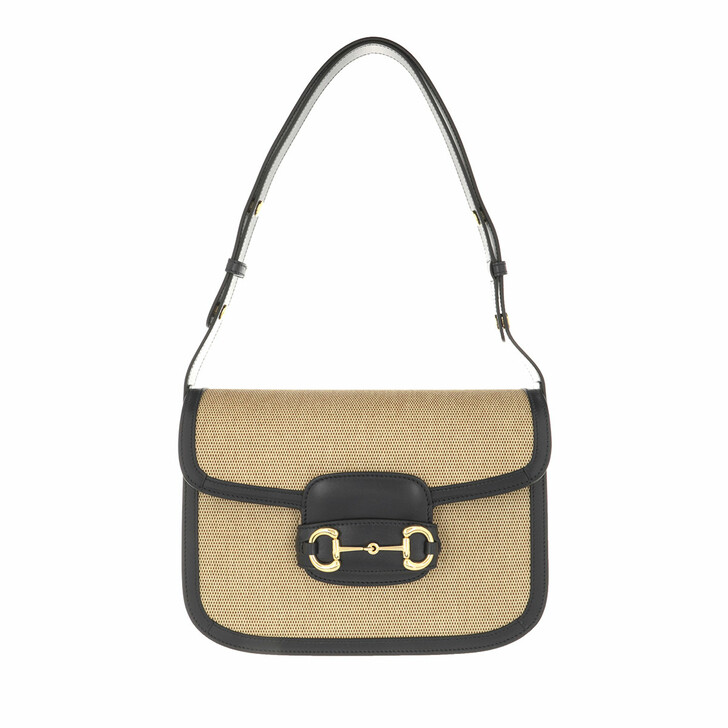 Handtasche, Gucci, 1955 Horsebit Crossbody Bag Beige