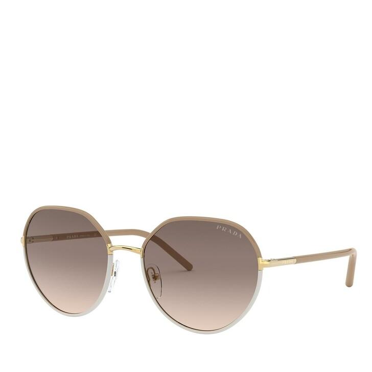 sunglasses, Prada, METALL WOMEN SONNE BEIGE/IVORY