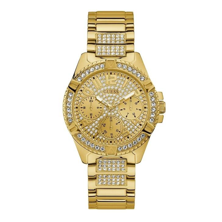 watches, Guess, Women Quartz Watch Lady Frontier Gold