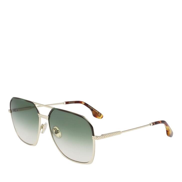 Sonnenbrille, Victoria Beckham, VB212S GOLD/GREEN