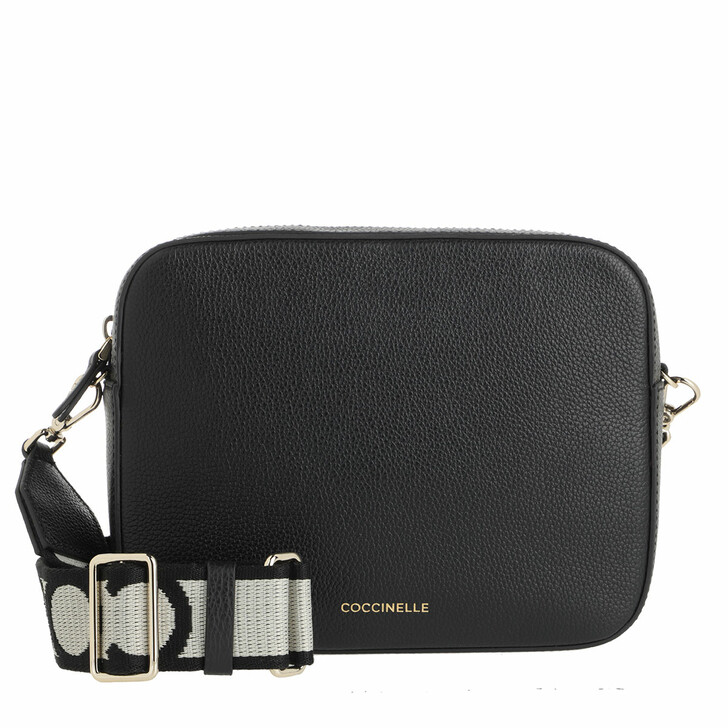 Handtasche, Coccinelle, Mini Bag Bottalatino Leather Noir