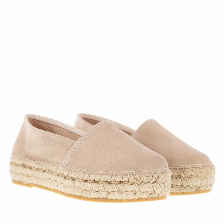 Schuh, Espadrij l'originale, CLASSIC VELOUR HIGH beige