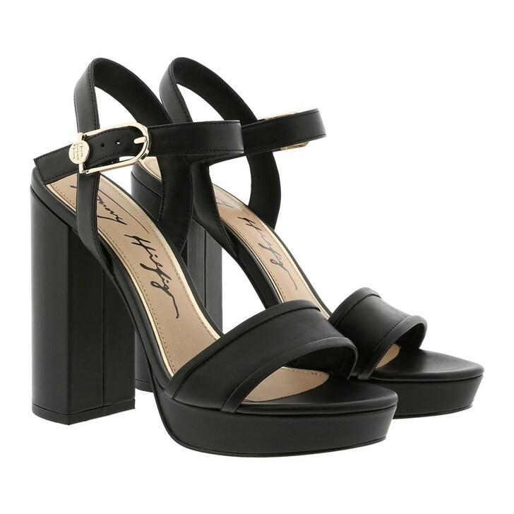 Schuh, Tommy Hilfiger, Elevated Tommy High Heel Sandals Black