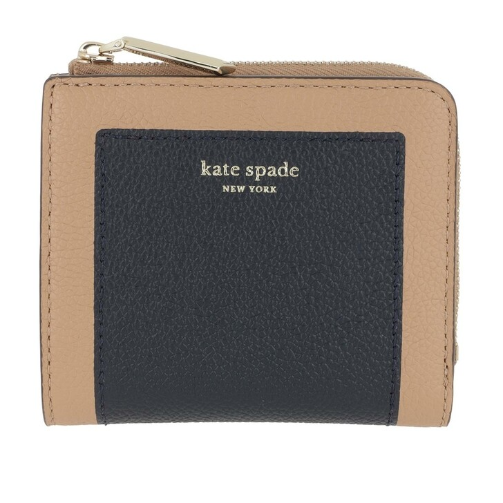 Geldbörse, Kate Spade New York, Small Bi Fold Wallet Light Fawn Multicolor