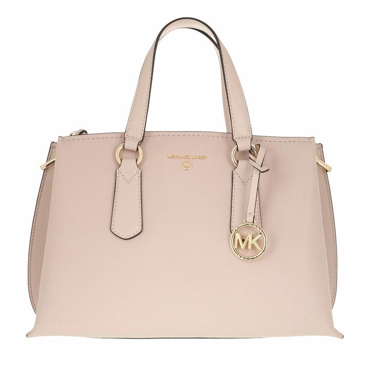 bags, MICHAEL Michael Kors, Medium Satchel Soft Pink