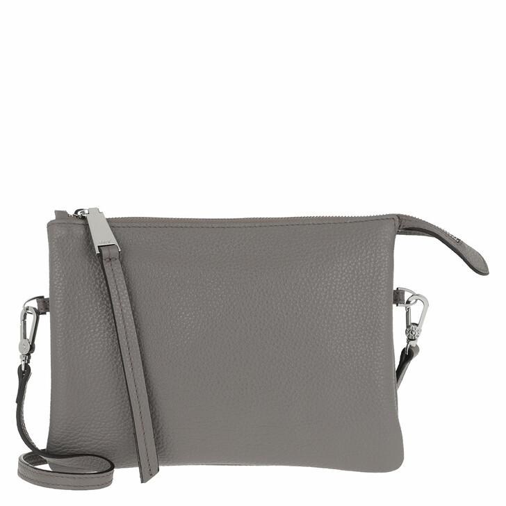 Handtasche, Abro, Crossbody Bag Threefold Zinc