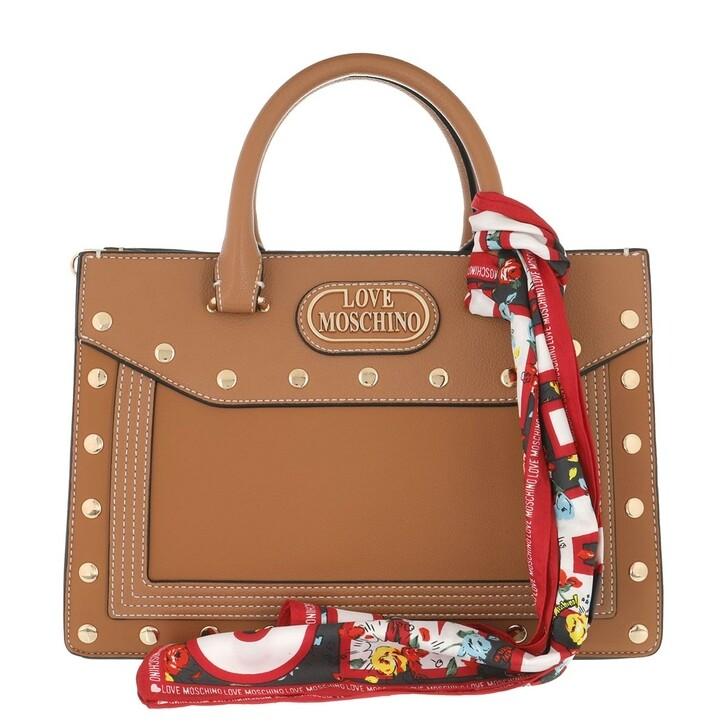 Handtasche, Love Moschino, Handbag Cammello