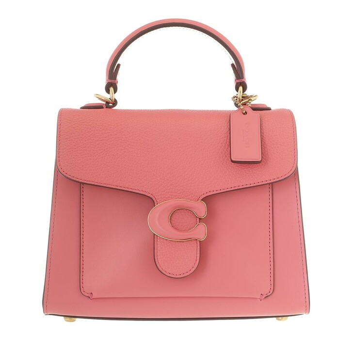 Handtasche, Coach, Leather Covered C Closure Tabby Top Handle 20 Taffy