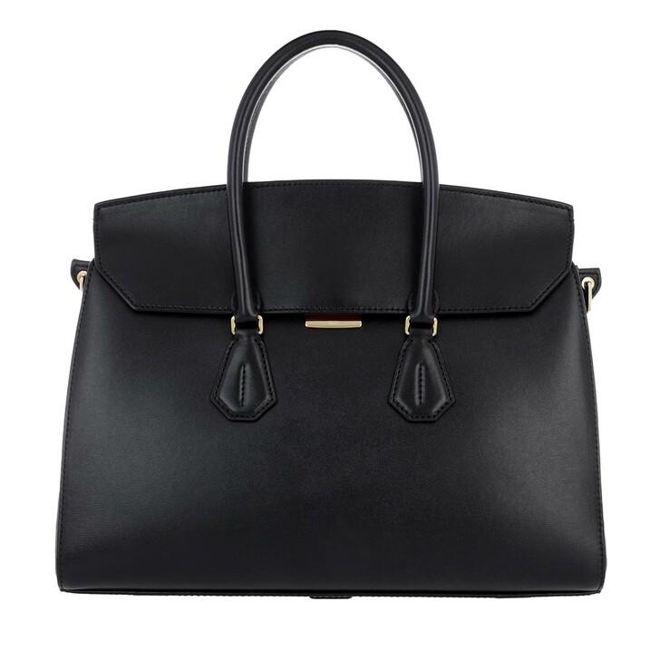 Handtasche, Bally, Saphyr Handle Bag Black