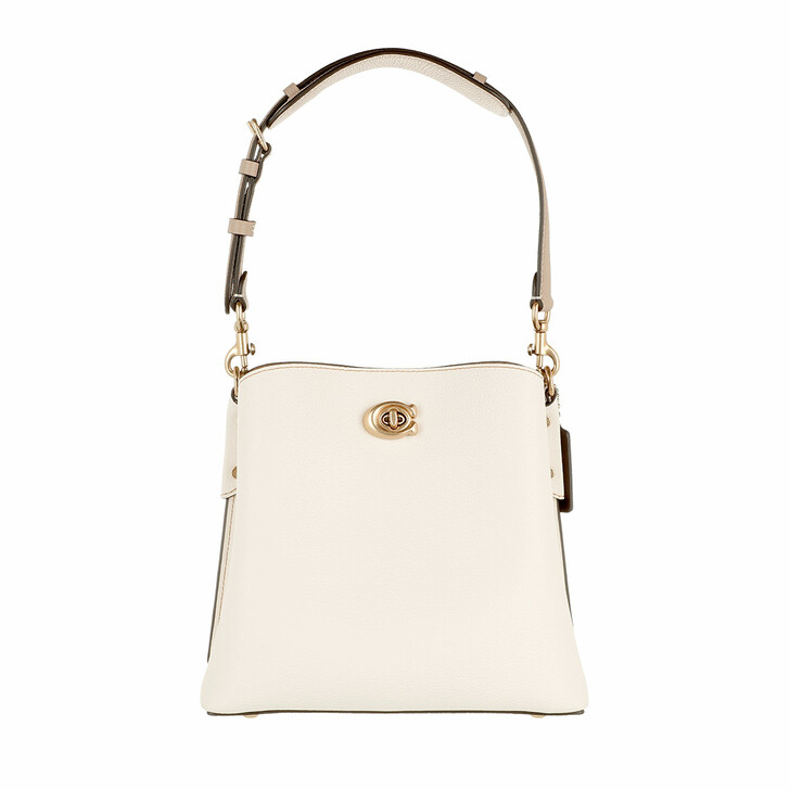 bags, Coach, Colorblock Leather Willow Bucket Bag 21 B4/Chalk Multi