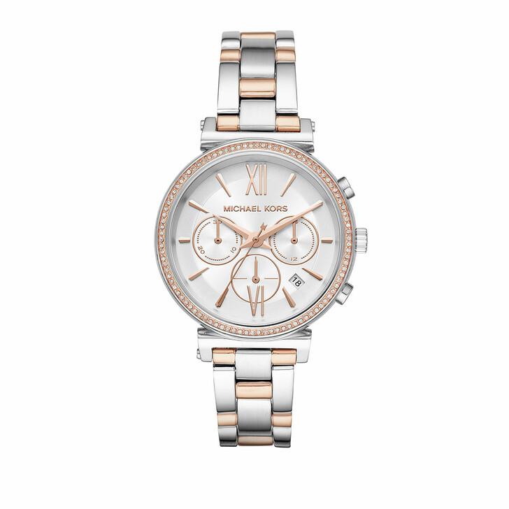 Uhr, Michael Kors, MK6558 Sofie Jetset Watch Silver