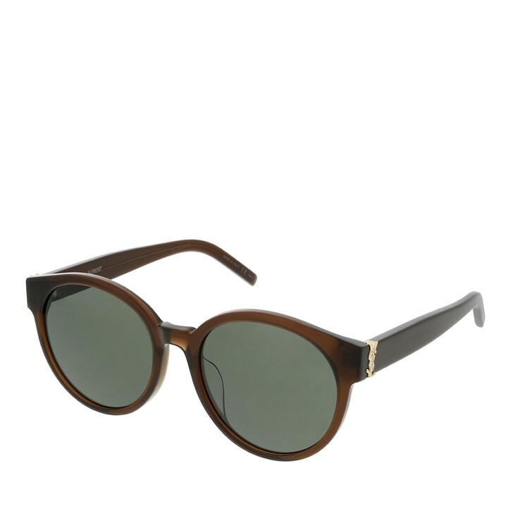 Sonnenbrille, Saint Laurent, SL M31/F-010 55 Sunglass WOMAN ACETATE BROWN