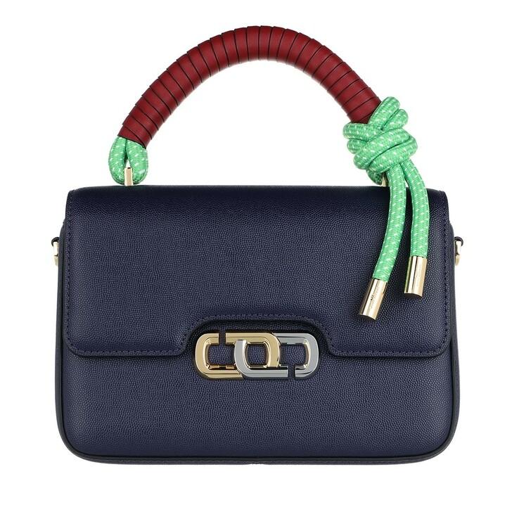 Handtasche, Marc Jacobs, The J Link Crossbody Bag Leather Navy