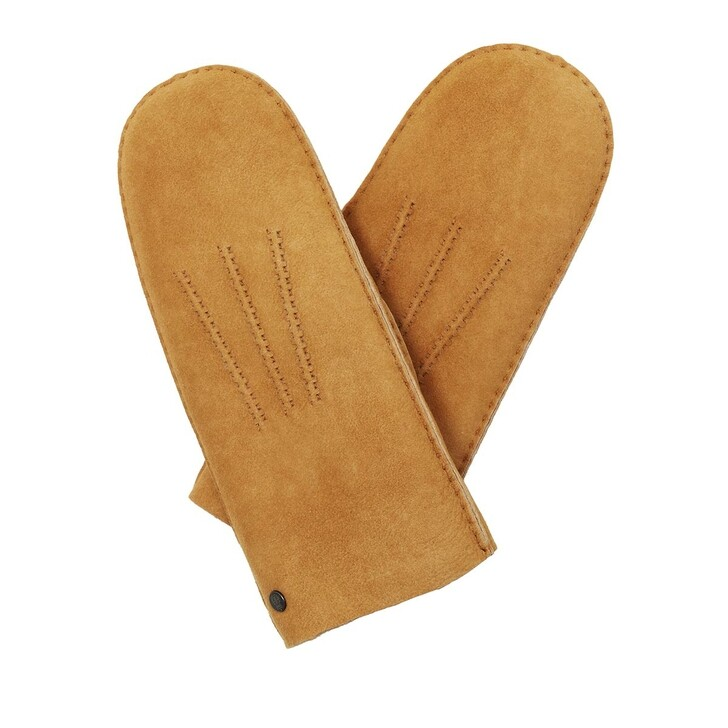 Handschuh, Roeckl, Oslo Gloves Hazelnut