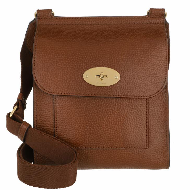 bags, Mulberry, Small Antony Messenger Bag Grain Leather Oak Natural