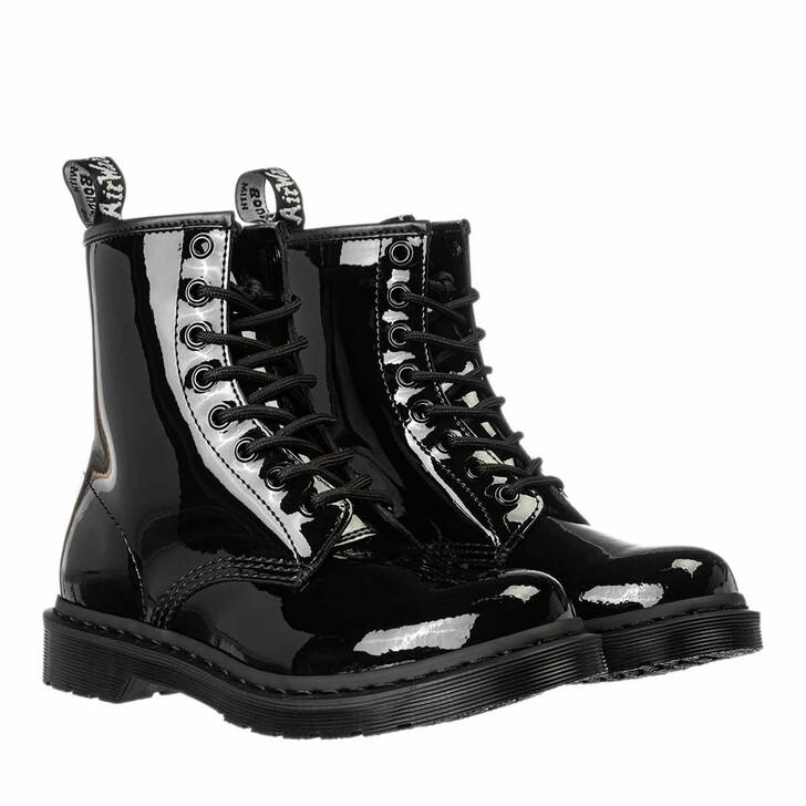 Schuh, Dr. Martens, 1460 Patent Mono Boot Black