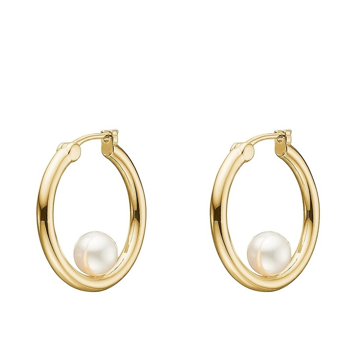 Ohrring, Charlotte Lebeck, Grace Earring Yellow Gold